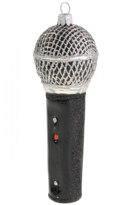 Zebra Music bauble microphone