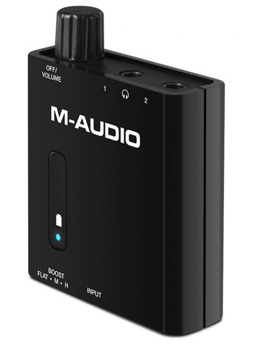 M-Audio Bass Traveler slúchadlový zosilňovač
