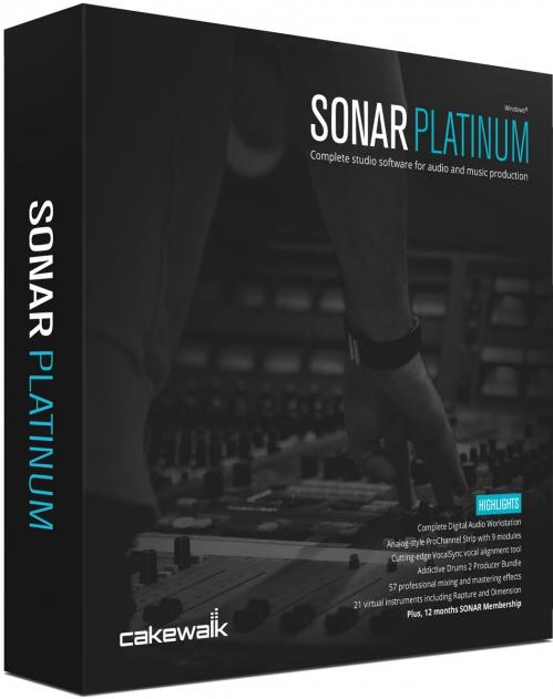 Cakewalk Sonar Platinum počítačový program
