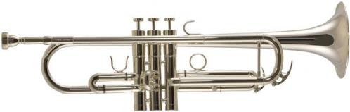 Trevor James TJTR-4500SP Bb trumpet, silver-plated (with case)