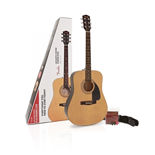 Fender FA115 Drednought pack, acoustic guitar set