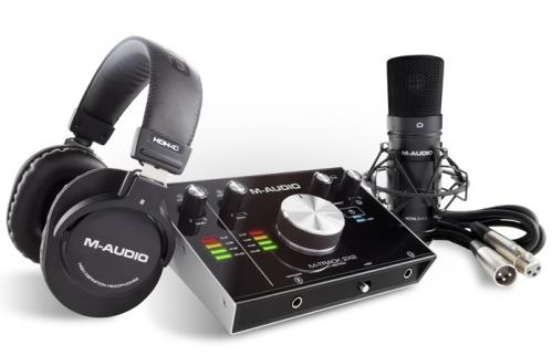 M-Audio M Track 2X2 Vocal Studio Pro complete production package