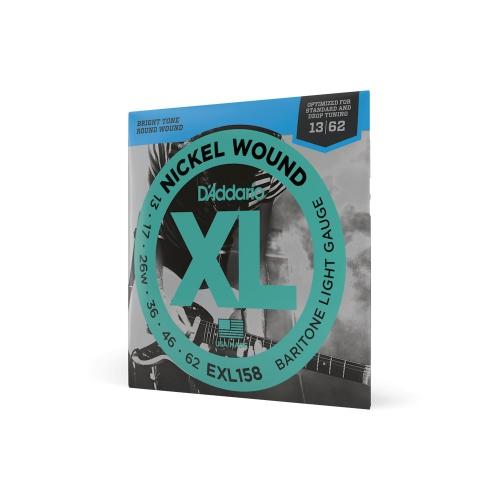 D′Addario EXL 158 struny na elektrickú gitaru