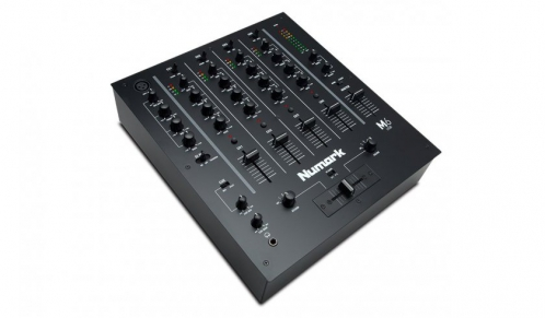 Numark M6 USB Black - 4-kanálový mixážny pult USB
