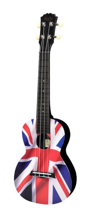 Korala PUC 30-019 concert ukulele, Union Flag