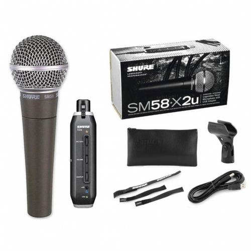 Shure SM58 + X2U Pakiet
