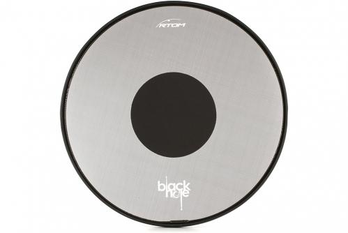 RTOM Black Hole Snap-on Mesh Bass Drum Practice Pad 16