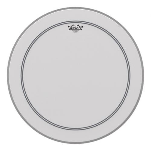 Remo P3-1120-C2 Powerstroke 3 22″ biela obalený, blana na bubon