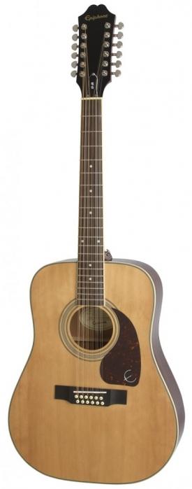 Epiphone DR 212 Natural akustická gitara