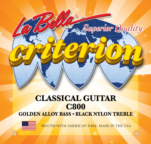 LaBella C800 Criterion struny pre klasickú gitaru