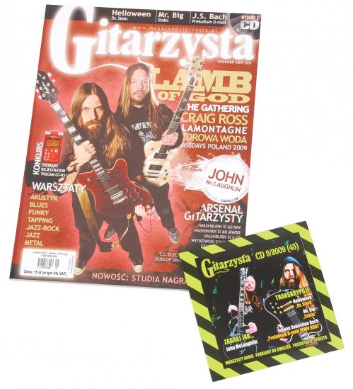 Gitarzysta 09/2009 + CD
