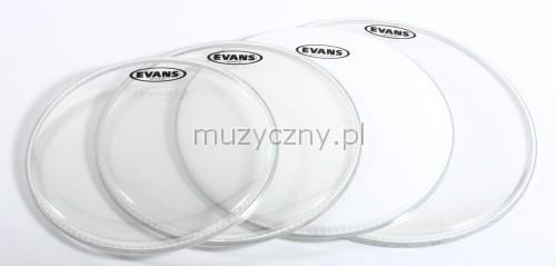Evans 12″ 13″ 16″ G2 CL/B14G2 CTD set blan pre bubny