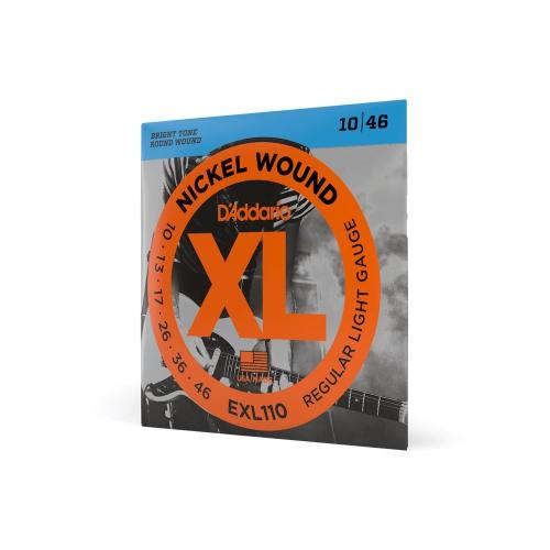 D′Addario EXL 110 struny na elektrickú gitaru