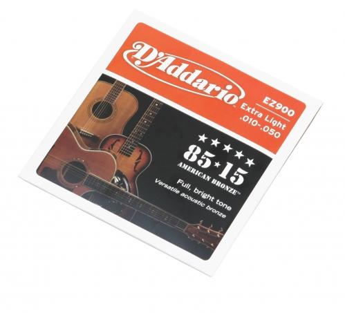 D′Addario EZ 900 struny na akustickú gitaru