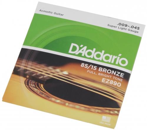 D′Addario EZ 890 struny na akustickú gitaru