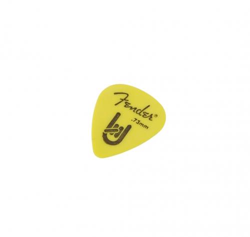 Fender 351 Shape Rock On 0.73 yellow gitarové trsátko