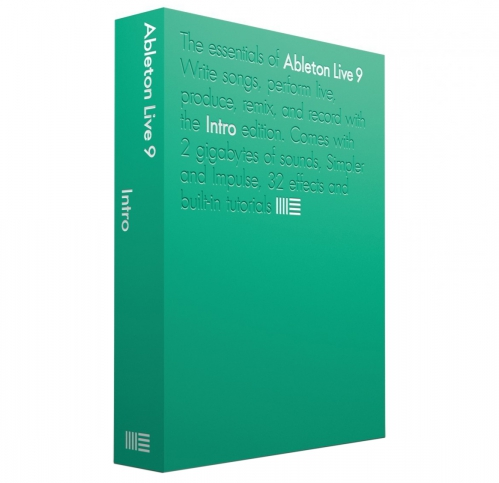 Ableton Live 9 Intro počítačový program