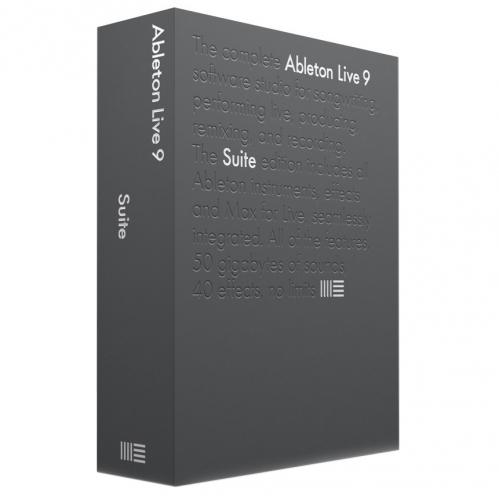 Ableton Live 9 Upgrade z Lite na Suite počítačový program