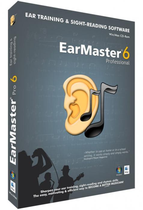 EarMaster 6 Pro počítačový program