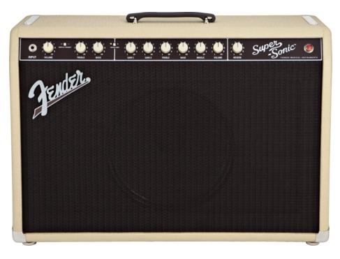 Fender Super Sonic 60 Combo Blonde lampičkový zosilňovač