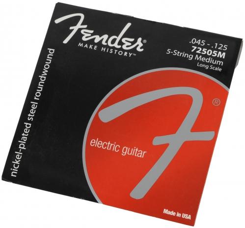 Fender 72505M-5 nickel plated struny