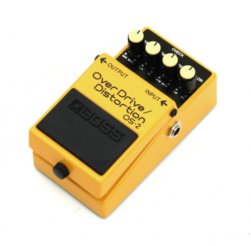 BOSS OS-2 Overdrive-Distortion gitarový efekt