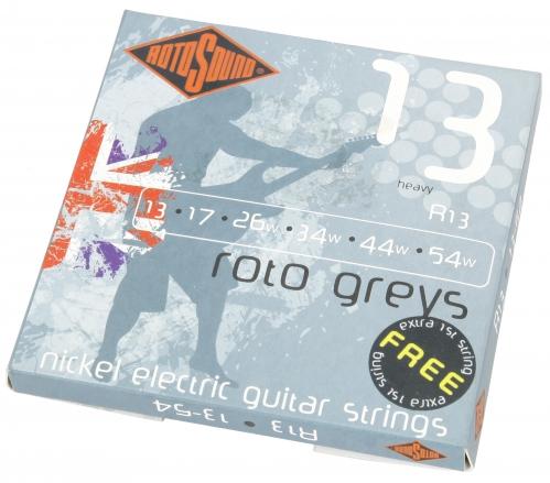 Rotosound R 13 Roto Greys struny na elektrickú gitaru