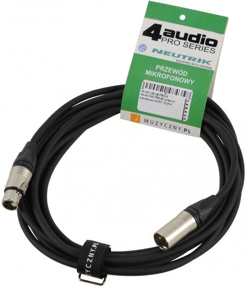 4Audio MIC PRO 5m drôt