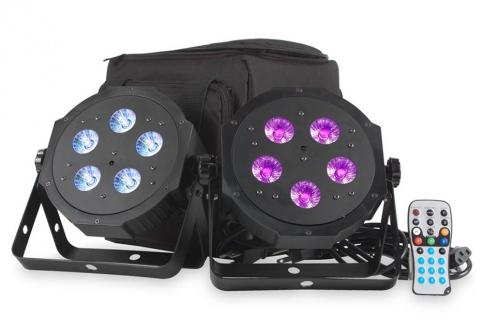 American DJ VPAR PAK - sada 2 reflektor LED RGBA + puzdro
