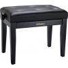 Roland RPB-300BK-EU piano bench, black matt, vinyl seat