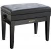 Roland RPB-400PE-EU piano bench, black matt, vinyl seat