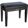 Roland RPB-220BK-EU piano bench, black matt, cloth seat