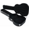 RockCase Standard Hardshell Case - Maccaferri Guitar Case, curved shape, black Tolex