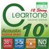 Cleartone struny pre akustickú gitaru, 12 strún 10-47 bronze