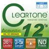 Cleartone struny pre akustickú gitaru, 12-53 bronze