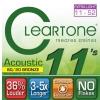 Cleartone struny pre akustickú gitaru 11-52 bronze