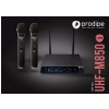 Prodipe M850 DSP DUO UHF dual microphone wireless set