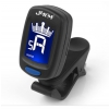 Jeremi A9 clip-on guitar tuner, black
