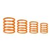 Gravity RP 5555 ORG 1 uniwersalny zestaw pierścieni Gravity, jaskrawy pomarańczowy