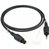 Klotz FOPTM03 robust cable with TOSLINK and optical mini jack