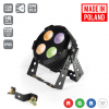 Flash Pro LED PAR 64 4X30W 4w1 COB IP65 RGBW MK2 - professional outdoor spotlight