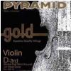 Pyramid 108103 D Gold husľová struna