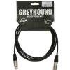 Klotz GRK1FM 0300 Greyhound microphone cable XLR-F-XLR-M