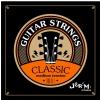Jeremi CG030-D4 struna D do gitary klasycznej, średni naciąg
