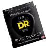 DR BKE-11 Black Beauties Extra Life struny na elektrickú gitaru