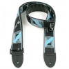 Fender Monogrammed black/gray/blue guitar strap