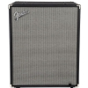 Fender Rumble 210 Cabinet, Black and Silver guitar cabinet