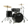 Basix Drumset Classic Plus drum kit, black