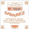 Savarez (645302) struna do chordofonu smyczkowego - A2 Jelito - BRH74