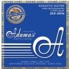 Adamas (664630) Phosphor Bronze Nuova powlekane struny do gitary akustycznej - Extra Light .010-.047